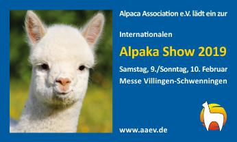 Alpaka Show Villingen-Schwenningen 2019