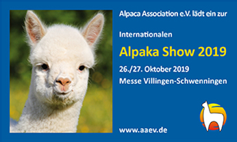 Internationale Alpaka Show Villingen-Schwenningen 2019